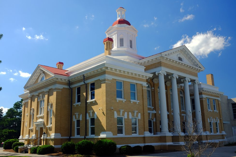 Duplin County Courthouse in Kenansville, North Carolina
