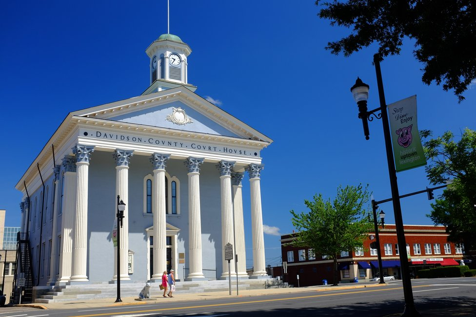 Davidson County Courthouse In Lexington North Carolina