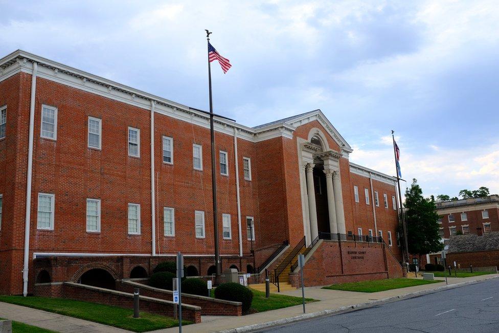 Beaufort County Courthouse in Washington, North Carolina